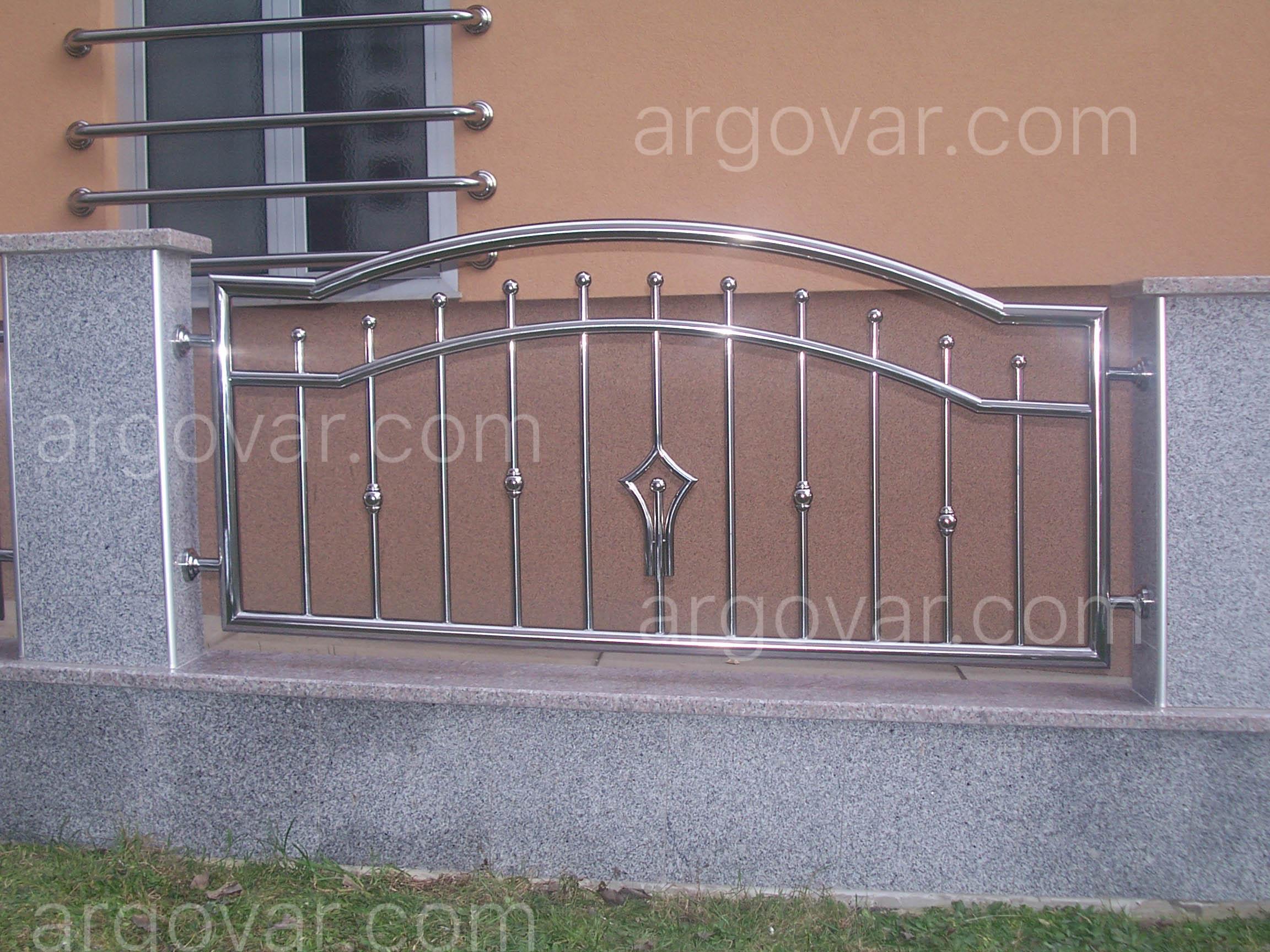 Inox  | Dvorišne ograde